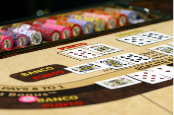 baccarat can also be played in between players