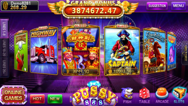 pussy888 – The Best Free apple iphone as well as Android Mobile Casino